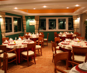 Interior of the restaurant